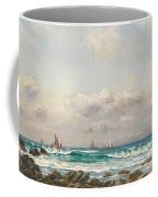 Boats At Sea Coffee Mug