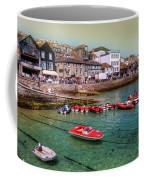 Boats At St Ives  Coffee Mug