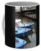 Boats In Amsterdam. Holland Coffee Mug