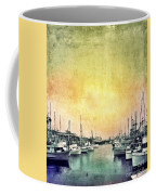 Boats In The Harbor Coffee Mug