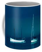 Boats Near Samsoe Island Denmark  Coffee Mug