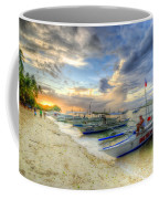 Boats Of Panglao Island Coffee Mug