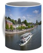Boats On River Dee Coffee Mug