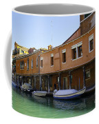 Boats On The Canal - Venice Coffee Mug