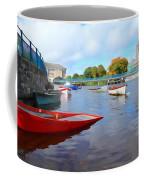 Boats On The Garavogue Coffee Mug