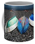 Boats On The Shingle Coffee Mug
