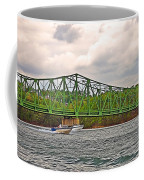 Boats Under Bridge Coffee Mug
