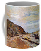 Boatyard Near Honfleur Coffee Mug by Claude Monet