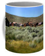 Bodie Ghost Town Landscape Coffee Mug