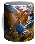 Boots And Quilt On The Trail Coffee Mug