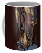 Boots Of A Drover Coffee Mug