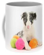 Border Collie Pup Coffee Mug