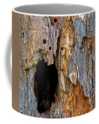 Bored By Woodpeckers Feeding Coffee Mug