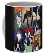 Boston Acrylic Collage Coffee Mug