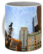 Boston Downtown Coffee Mug by Elena Elisseeva