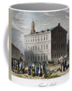 Boston: Faneuil Hall, 1776 Coffee Mug