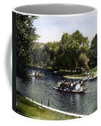 Boston: Swan Boats, C1900 Coffee Mug