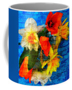 Botanical Graffiti  Coffee Mug
