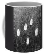 Bottlebrush Plant B W Coffee Mug
