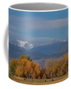 Boulder County Colorado Continental Divide Autumn View Coffee Mug by James BO  Insogna