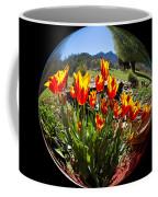 Bouquet In A Bubble Coffee Mug