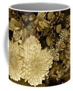 Bouquet In Sepia Coffee Mug