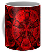 Bouquet Of Roses Kaleidoscope 6 Coffee Mug