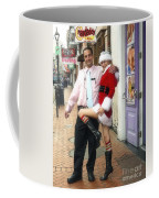 Bourbon Street In Daylight - Santa's Helper Coffee Mug