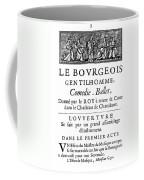 Bourgeois Gentilhomme Coffee Mug