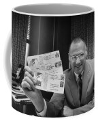 Bowie Kuhn (1926-2007) Coffee Mug by Granger