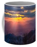 Brasstown Sunset Coffee Mug by Debra and Dave Vanderlaan