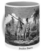 Brazil: Hunters, C1820 Coffee Mug