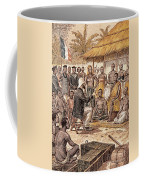 Brazza In Africa, 1880 Coffee Mug