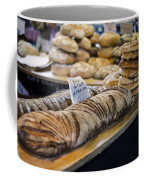 Bread Market Coffee Mug by Heather Applegate