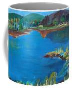 Breakwater On The Great Sacandaga  Coffee Mug