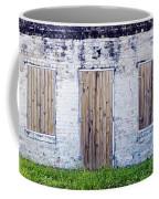 Brick And Wooden Building Coffee Mug