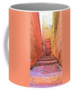 Old Stairs - Bisbee Az Coffee Mug