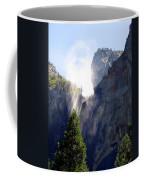 Bridalveil Falls In Yosemite Coffee Mug