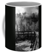 Bridge In Mud Volcano Area Coffee Mug