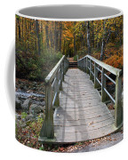 Bridge Into Autumn Coffee Mug