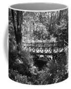 Bridge Of Centralpark In Black And White Coffee Mug
