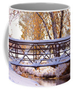Bridge Over Icy Waters Coffee Mug by James BO  Insogna