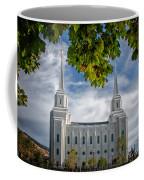 Brigham City Temple Leaves Arch Coffee Mug