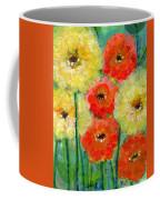 Bright Colored Flowers Shine Coffee Mug