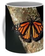Bright Orange Monarch Butterfly Coffee Mug