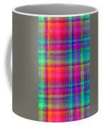 Bright Plaid Coffee Mug