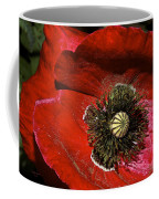 Bright Red Poppy Coffee Mug