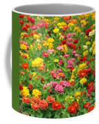 Brightly Colored Marigold Flowers Coffee Mug