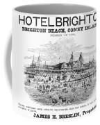 Brighton Beach Hotel, 1880 Coffee Mug