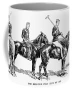 Brighton Polo Club, 1877 Coffee Mug